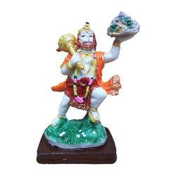 Hanuman With Parvat Statue