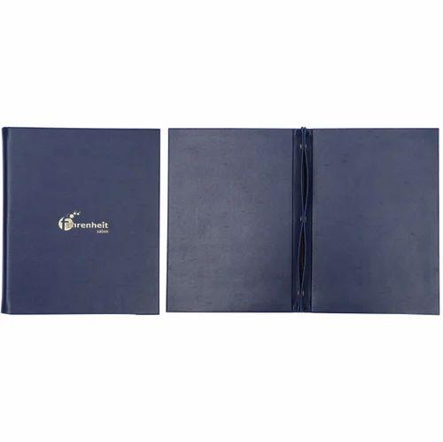 Leather Menu Folder with Screw Binder
