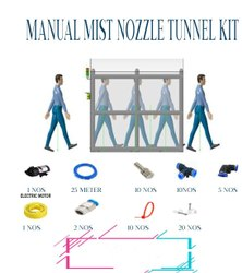 Manual Mist Nozzle Tunnel Kit
