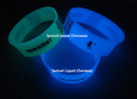 Glow in Dark Silicone Band