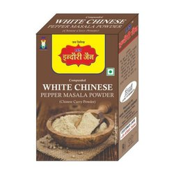 Indori Jain White Chinese Pepper Masala Powder, Packaging Size: 100g