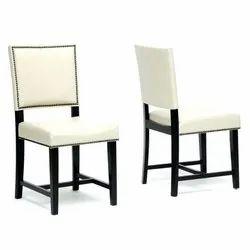 Garud Enterprises Modern Leather Cafe Dining Chair, Set Size: Single