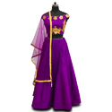 Party Wear Croptop Lehenga with Dupatta