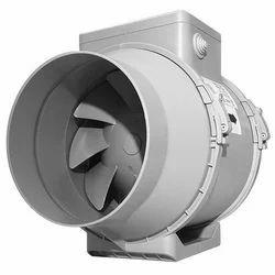 Inline Mixed Flow Duct Fan