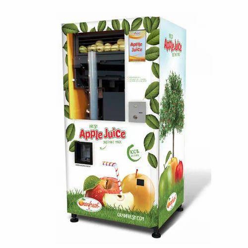 Apple Juice Vending Machine Beverage Vending Machine Green Tower