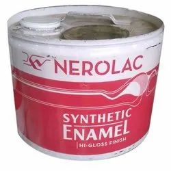 High Gloss Nerolac Synthetic Enamel Paint, For Interior,Exterior