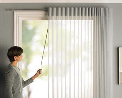 Vertical Curtain Blinds