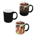 Multicolor Ceremic Magic Coffee Mug For Home & Office, Packaging Type: Box,