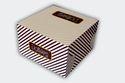 Printed Cake Box 8 x 8 x 5 inch