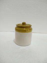 Glaze Pickle Set White Small