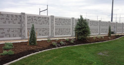 Precast Security Wall