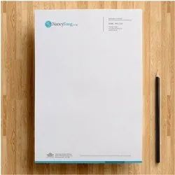 White Paper Letterhead Printing Services