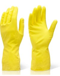 Reusable Rubber Hand Gloves for Cleaning
