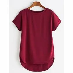 Girls Slouch Tee Top