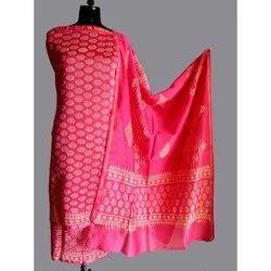 Designer Silk Dress Material