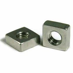 Silver Square Nut