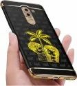 Golden Metal 4015 Ajanta Love Couple With Tree 24k Gold Plating Mobile Sticker