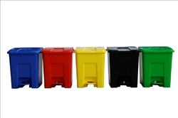 Colour Coded Pedal Bin