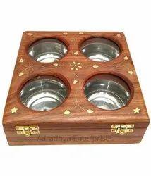 Wooden Handmade Dry Fruit Box For Return Gifts