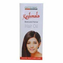 Gattumal Keshmala Medicated Hair Oil, Packaging:  100 mL