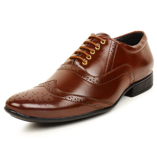 e6c57926682f51 Buwch Men Formal Brown Shoe, Size: 6-10, Rs 260 /pair, RK Fashion ...