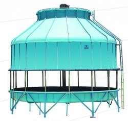 Nyle Blue Counter Flow Induced Draft Cooling Tower, Round, for Industrial
