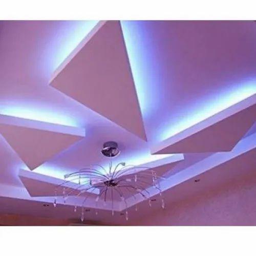 White POP False Ceiling, Rs 65 /square feet Efansy   ID ...