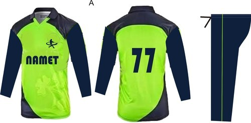 d16200bca Collar Neck Dry Fit Designer Cricket Jersey, Rs 850 /piece | ID ...