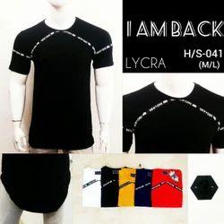 Men's Cotton Lycra T Shirt