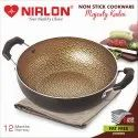 Nirlon Majesty Kitchen Cooking Nonstick Kadhai / Wok 1.8 Liter
