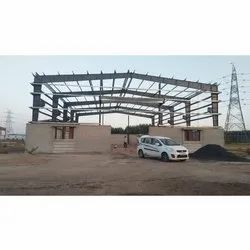 Warehouse Mild Steel Roofing Structure
