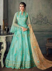 Abaya Style Anarkali Suits