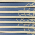 Designer Folded Zebra Blind