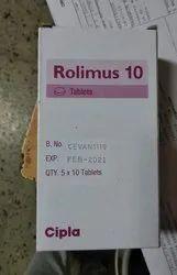 Rolimus 10 Mg Tablets