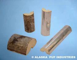 Laminated PU Foam Pipe Sections