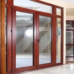 Doors Brown Aluminum Casement Door