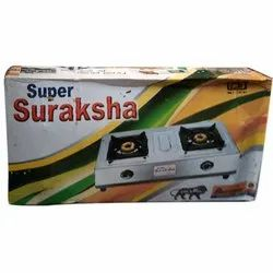 Super Suraksha Stainless Steel Gas Stove