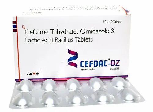 Cefdac-OZ Tablets