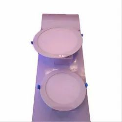 Cool White LED Wall Panel Light, Shape: Round