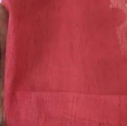 Fabreec House Plain Raw Art Silk Fabric Dyeable