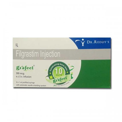 Grafeel 300 MCG Injection, Packaging Size: 6 X 1 Ml