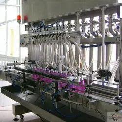 Automatic Servo Based Liquid Filling Machine