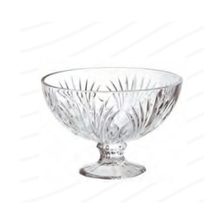 Roxx 22 cm Sylvia Footed Glass Bowl
