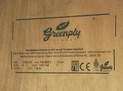 Greenply Green Marine Ply 710, Size: 4 x 8 feet