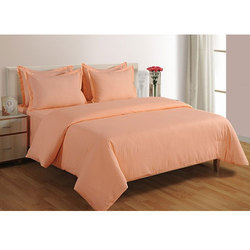 Peach Color 300 Tc Duvet Cover At Rs 2355 Piece Rohini Panipat
