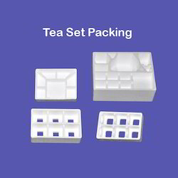 Tea Set Thermocol Packing