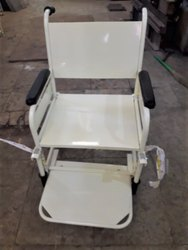 M.S Powder Coated Wheel Chair