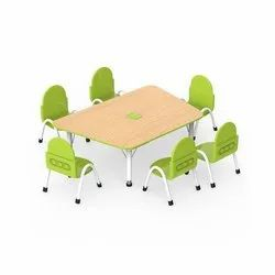 OK Play Mech Table and Robo Chair, For Play School