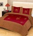 Jaipuri Print Patch Work Cotton Double Bed Sheet