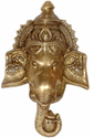 Brass Ganesh Wall Hanging